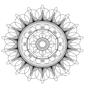 mindfulness colouring sheets mandala high quality