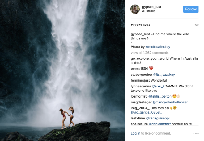 fake mindfulness of instagram bali goddesses