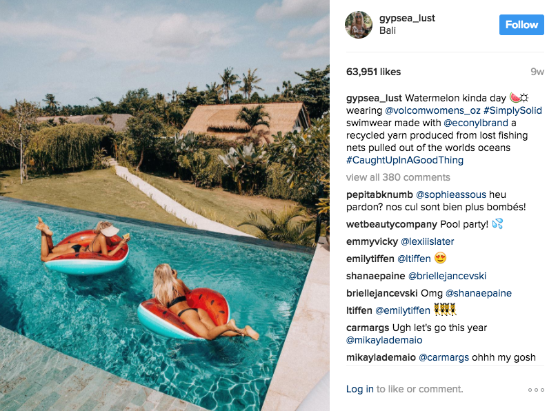 coping with the Instagram goddesses of Bali