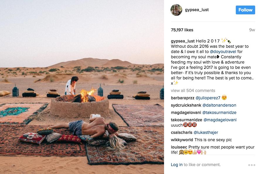fake pretentious contrived instagram accounts
