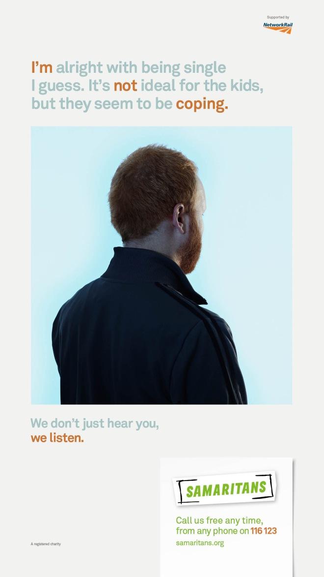 hear vs listen samaritans campaign